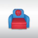 Fotel rozkładany z oparciami