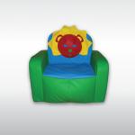 Fotelik z oparciami