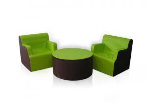 "Zestaw ""dwa fotele + stolik"""
